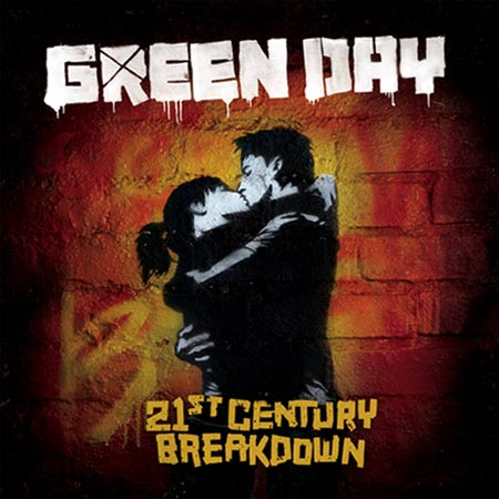 Portada del último disco de Green Day 21st Century break down