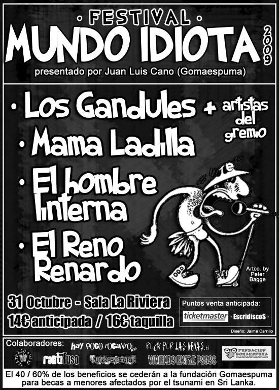cartel del Festival Mundo Idiota