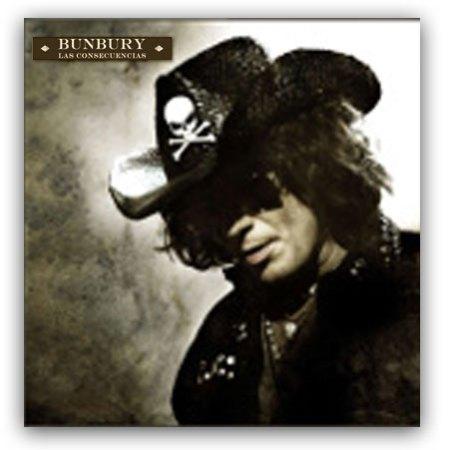 Carátula del disco Las consecuencias de Bunbury