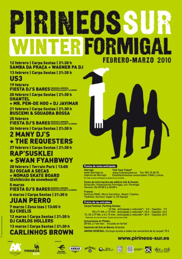Cartel del Pirineos Sue Winter Formigal