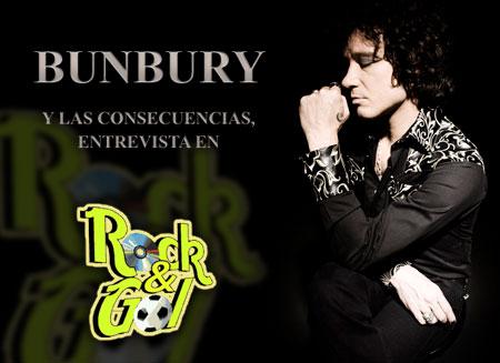 Entrevista a Bunbury en Rock&Gol sobre su disco las consecuencias