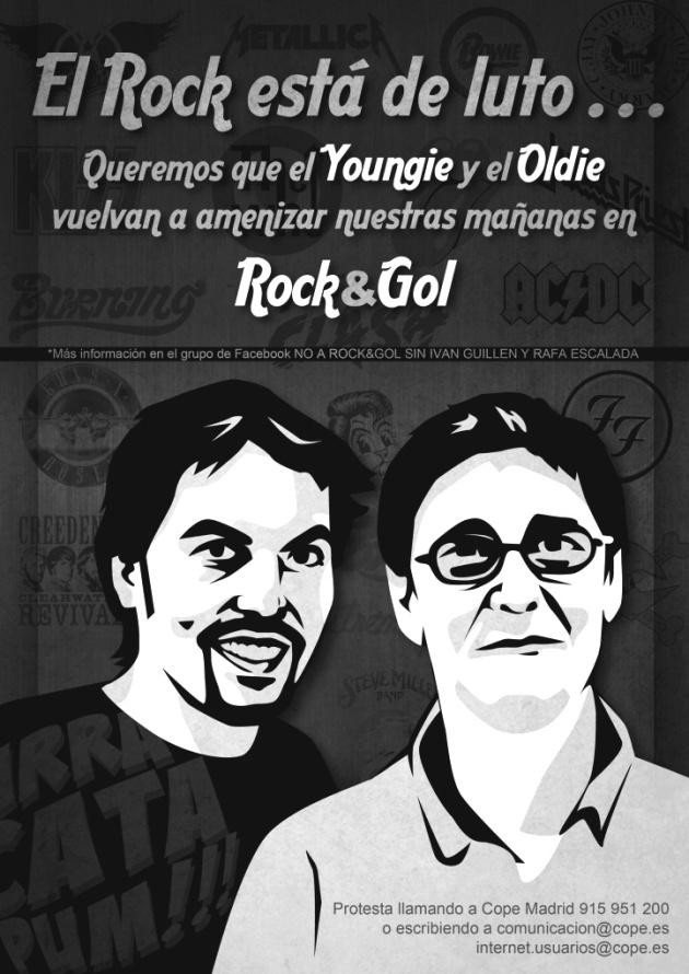 Queremos que el Youngie y el Oldie vuelvan a amenizar nuestras mañanas en Rock&Gol